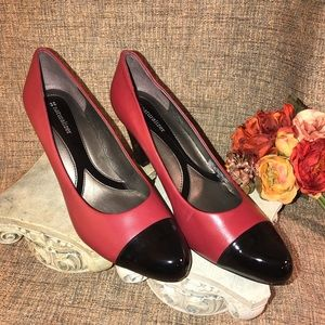 New Naturalizer red/ black patent leather shoes!